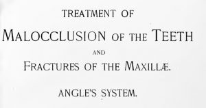 Baja gratis el libro original de Edward H Angle: Treatment of malocclusion of the teeth and fractures of the maxillae : Angle's system