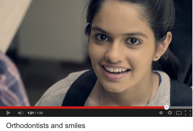Ortodoncistas y sonrisas, un video de la Indian Orthodontic Society