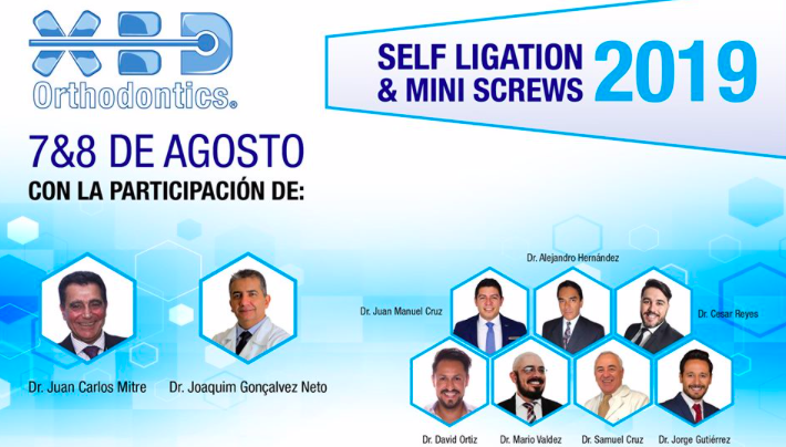 Nos vemos el 7 y 8 de Agosto en el  Self-Ligation & Mini-Screws 2019